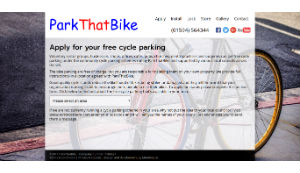 Park that bike info site